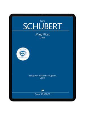 Schubert: Magnificat in C. carus music