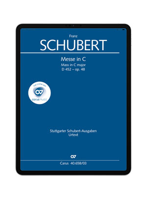 Schubert: Messe in C. carus music