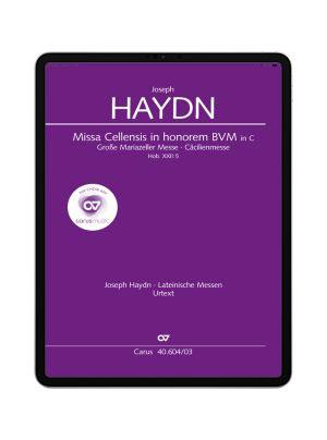 Haydn: Große Mariazeller Messe in C. carus music