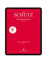 Schütz: Weihnachts-Historie SWV 435. carus music
