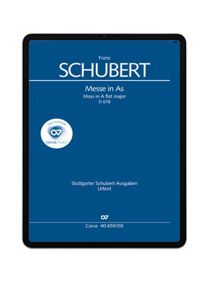 Schubert: Messe in As. carus music