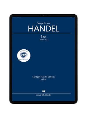 Händel: Saul. carus music