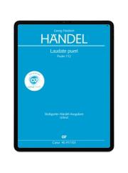 Handel: Laudate pueri. carus music