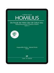 Homilius: Weihnachtsoratorium. Die Freude der Hirten über die Geburt Jesu. carus music