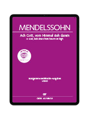 Mendelssohn: Ach Gott, vom Himmel sieh darein. carus music