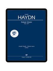 Haydn: Stabat mater. carus music