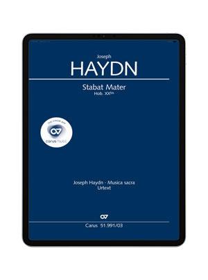 Haydn: Stabat mater. carus music
