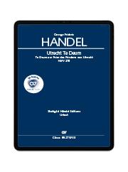 Handel: Utrecht Te Deum. carus music