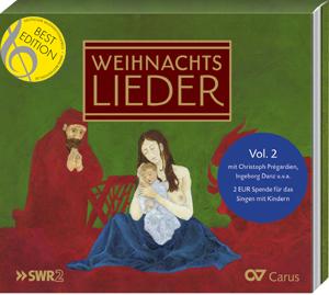 Jonas Kaufmann Weihnachtslieder.Weihnachtslieder Cd Vol 2 Compact Disc Carus Verlag