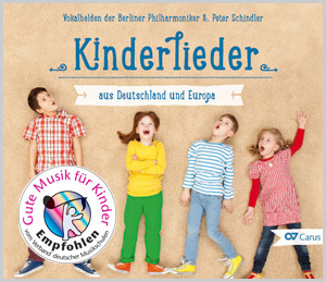 """CD """"Kinderlieder aus Deutschland und Europa"""""""