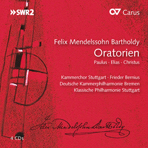 Felix Mendelssohn Bartholdy: Oratorios (box with 4 CDs)