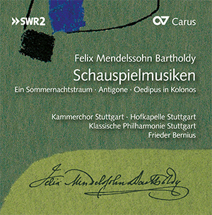 Felix Mendelssohn Bartholdy: Schauspielmusiken (Bernius) (Box mit 3 CDs)