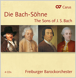 The Sons of J.S. Bach (box with 4 CDs)