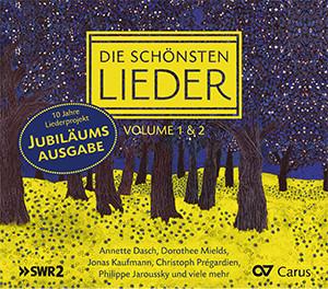 Die schönsten Lieder Vol. 1 & 2. CD-Box. Jubiläumsausgabe