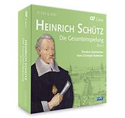 Heinrich Schütz : l'intégrale - 1er coffret