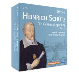 Heinrich Schütz: Die Gesamteinspielung. Box III (Vol. 15-20)