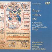 Puer natus est. Chormusik zur Advents- und Weihnachtsliturgie
