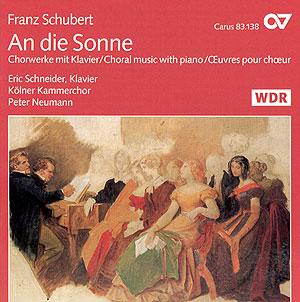 Schubert: An die Sonne. Chormusik mit Klavier