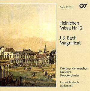 Heinichen: Missa Nr. 12; Bach: Magnificat (Rademann)