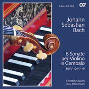 Bach: 6 Sonate per Violino e Cembalo BWV 1014-1019 (Johannsen)