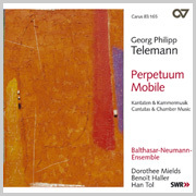 Telemann: Perpetuum mobile. Kantaten + Kammermusik