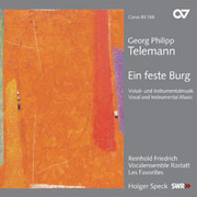Telemann: Ein feste Burg. Vocal- and instrumental music