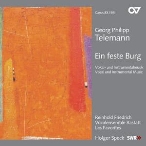 Telemann: Ein feste Burg. Vokal- und Instrumentalmusik (Speck)