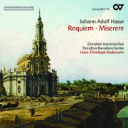 Hasse: Requiem - Miserere (Rademann)