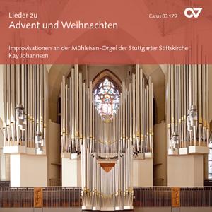 Lieder zu Advent und Weihnachten (Orgelimprovisationen) (Johannsen)
