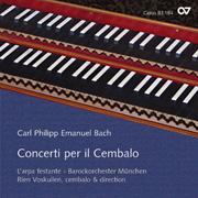 C. P. E. Bach: Concerti per il Cembalo
