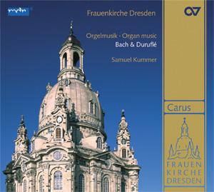 Frauenkirche Dresden. Organ music by Bach & Duruflé