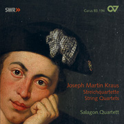 Joseph Martin Kraus: Streichquartette