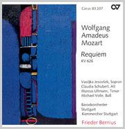 Mozart: Requiem (Bernius)