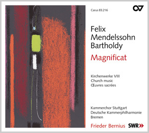 Mendelssohn: Magnificat. Kirchenwerke VIII (Bernius)