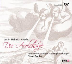 Justin Heinrich Knecht: Die Aeolsharfe (Bernius)