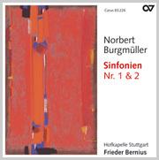 Norbert Burgmüller: Sinfonien Nr. 1 + 2 (Bernius)