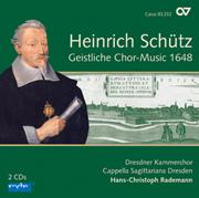 Schütz: Geistliche Chor-Music 1648. Complete recording, Vol. 1 (Rademann)