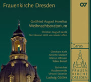 """Gottfried August Homilius: Christmas oratorio. """"Die Freude der Hirten über die Geburt Jesu"""""""