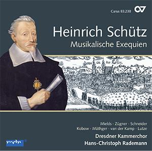 Schütz: Musikalische Exequien und andere Trauergesänge. Complete recording, Vol. 3 (Rademann)