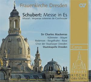 Schubert: Messe in Es und Mozart: Vesperae solennes de Confessore
