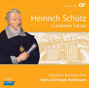 Heinrich Schütz: Cantiones Sacrae. Complete recordings, Vol. 5