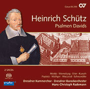 Heinrich Schütz: Psalmen Davids. Complete recordings, Vol. 8