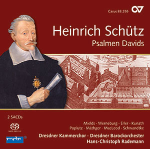 Schütz: Psalmen Davids. Complete recording, Vol. 8 (Rademann)