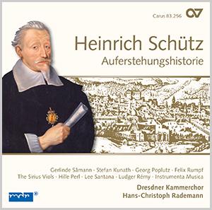 Schütz: Auferstehungshistorie. Complete recording, Vol. 9 (Rademann)