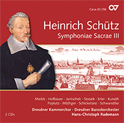 Schütz: Symphoniae Sacrae III, Complete recordings, Vol. 12