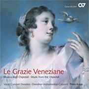 Le Grazie Veneziane – Music from the Ospedali