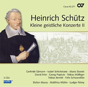 Schütz: Kleine geistliche Konzerte II. Complete recording, Vol. 17