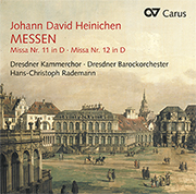 Heinichen, Johann David: Messen (Rademann)