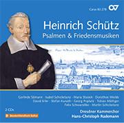 Schütz: Psalmen & Friedensmusiken. Complete recording, Vol. 20