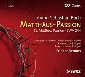 Bach: Matthäus-Passion / Bernius